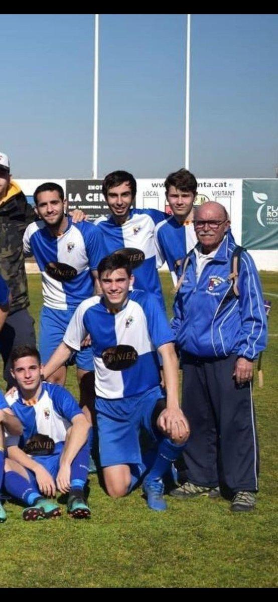 Nostre respecte, nostra admiració i nostre agraïment. Josep Maria Mateu, DEP #futbolcat
