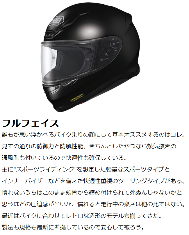これからヘルメットを買う人向けの真面目な話です