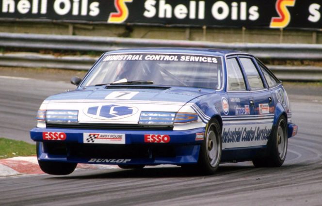 The Rover SD1 Vitesse was also a successful touring car, fast, handsome & brutish, driven to #BTCC championship success in '84 by Andy Rouse (pic), his 3rd of 4 triumphs in the series. It was an #ETCC winner in the hands of Tom Walkinshaw & Win Percy the following year too. (2/3) https://t.co/kcYGeknOPS