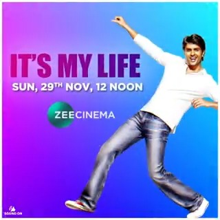 From the King of Comedy @BazmeeAnees, comes another laughter-filled family entertainer. Watch 'It's My Life', releasing on your TV screens on Sunday, 29th November at 12 Noon, only on #ZeeCinema  @BoneyKapoor #SanjayKapoor @nanagpatekar #HarmanBaweja @geneliad @KapilSharmaK9