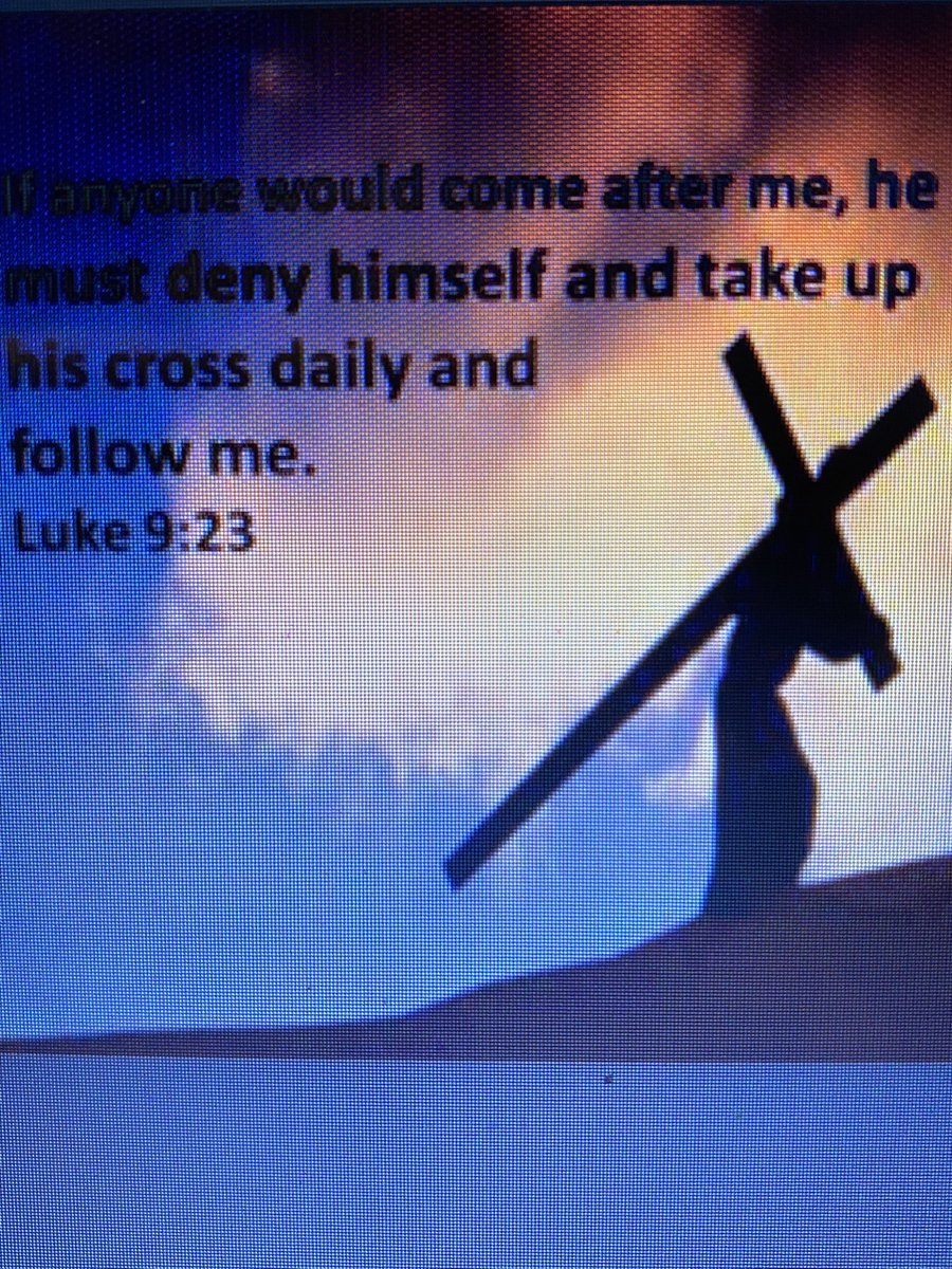 Pick up YOUR Cross and follow the Lord, trials, to joy, hardships, hunger,  #takeupthecross it will lead you to Heaven one day, a destination with indescribable love, for you!! Follow Jesus always.