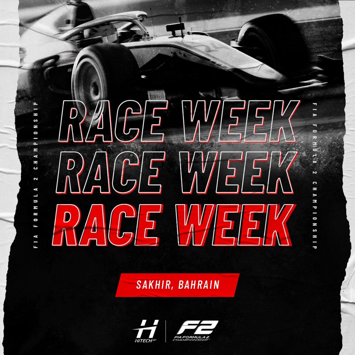We can FINALLY say it... 🤩🤩🤩  F2 RACE WEEK! 🇧🇭🇧🇭🇧🇭🇧🇭  #RoadToF1 #FIAF2 https://t.co/38dIW27XVq