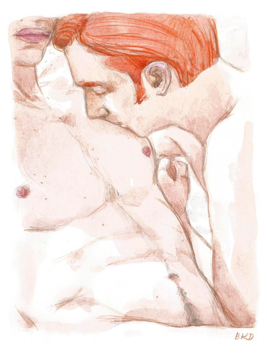 Replying to @blackkingsdream: #Kylux #KyloRen #ArmitageHux #nsfw #myart