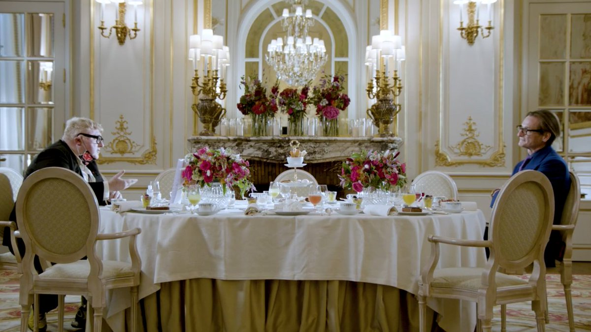 At the @_RitzParis #palacehotel, Alber Elbaz Reveals the Name of His New Brand and Its Visual Identity at @Vogue's #ForcesofFashion Summit... ✨✨✨✨✨   #Paris #Fashion