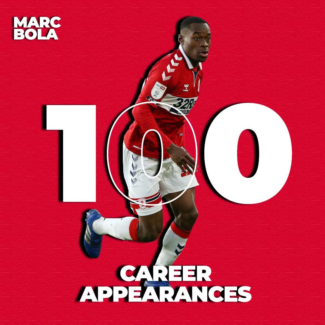 💯 career appearances for @MarcBola27 👏 #UTB