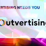Image for the Tweet beginning: Industry volunteers, @Outvertising, are a