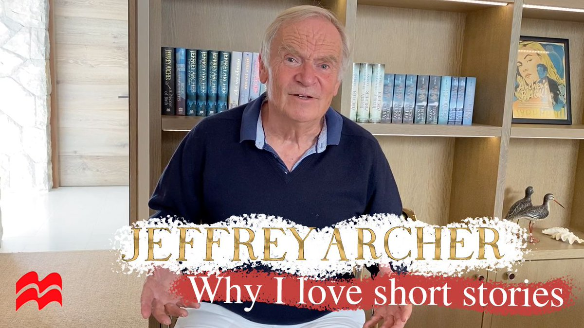 Why @Jeffrey_Archer loves short stories, and you should too: buff.ly/31I3ldP