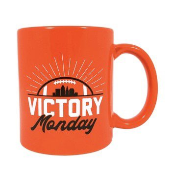 Top of the morning to you! #VictoryMonday #Browns