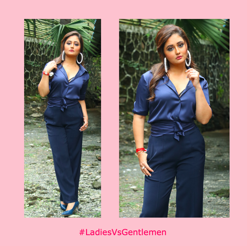 This is a @TheRashamiDesai appreciation post because she is our #WomanCrushWednesday #WCW #LadiesVsGentlemen @FlipkartVideo #WeAreBanijay