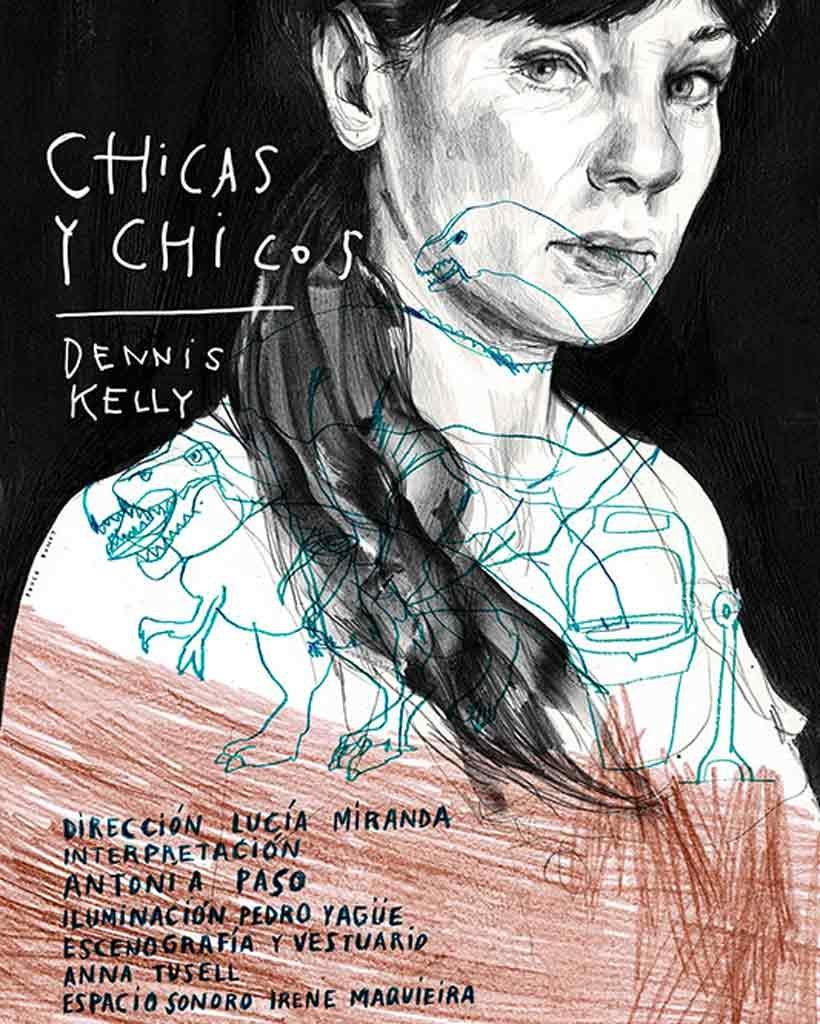 Amigos de #Zaragoza, mañana miércoles @PasoAntonia en @TeatroEsquinas en este monólogo dirigido por servidora. #feminismo #maternidad #muchatelaquecortar @elsoldeyork1