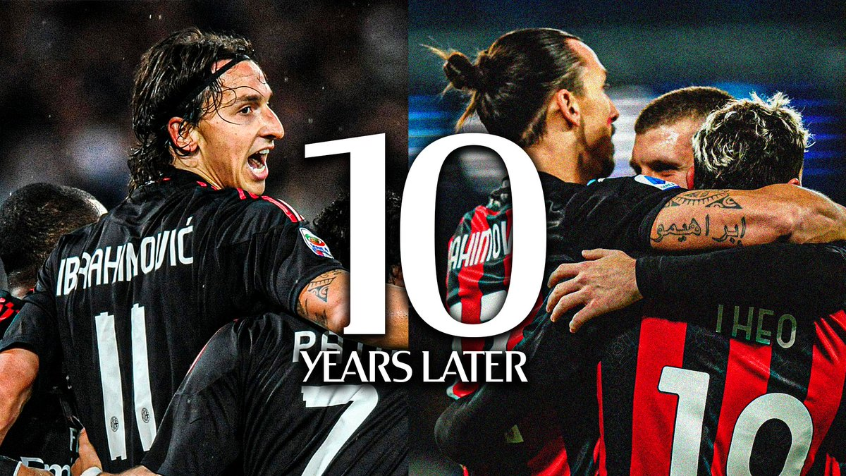 🔟 years later: #NapoliMilan ✅ Just a matter of time, notice anything particular? 😉  Differenze e... somiglianze, era solo questione di tempo 😉 #SempreMilan