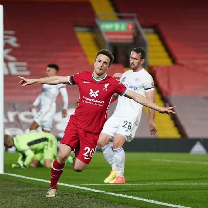Diogo Jota for Liverpool:  ⚽️ vs. Sheffield Utd ⚽️ vs. Midtjylland ⚽️ vs. West Ham ⚽️⚽️⚽️ vs. Atalanta ✖️ vs. Man City ⚽️ vs. Leicester  What a signing he has been 🤩 https://t.co/XP0WtZsMB0