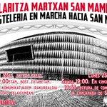 Image for the Tweet beginning: La hostelería de Bilbao organiza
