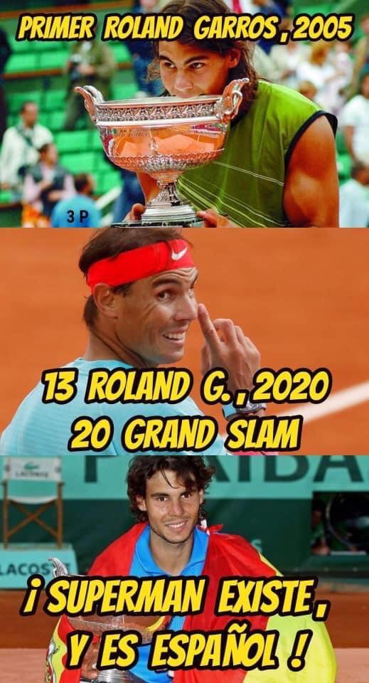 @RafaelNadal Con Máster o sin el, para mi eres e mejor tenista de la historia Rafa. 👏👏👏👏👏