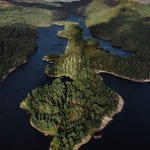 Image for the Tweet beginning: Here's #Scotland from above, a
