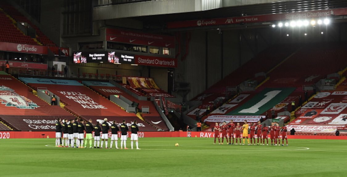 My Liverpool vs Leicester City match report is up! 🔴 v 🦊   A 3-0 win a perfect tribute to Ray Clemence, as Liverpool go joint top of the Premier League. And break new records!  📝   #LIVLEI #LFC   https://t.co/QLucyp8j3Z https://t.co/tmDJuNMiYt