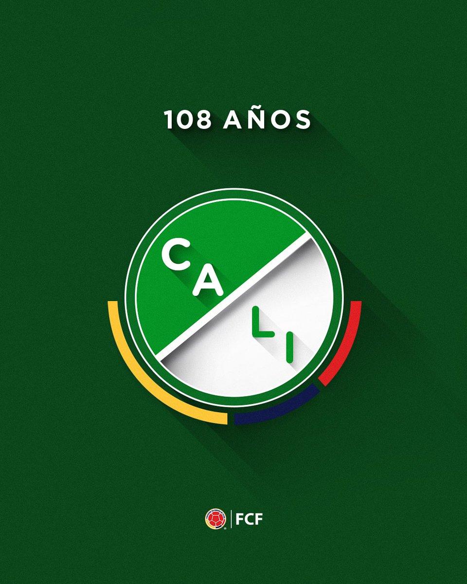 ¡Felices 1⃣0⃣8⃣ años azucareros!  El @AsoDeporCali está de celebración y queremos acompañarlos en su festejo. Gracias por llenar de historia nuestro fútbol 🙌  ¡Que sean muchos más ⚽🤙!