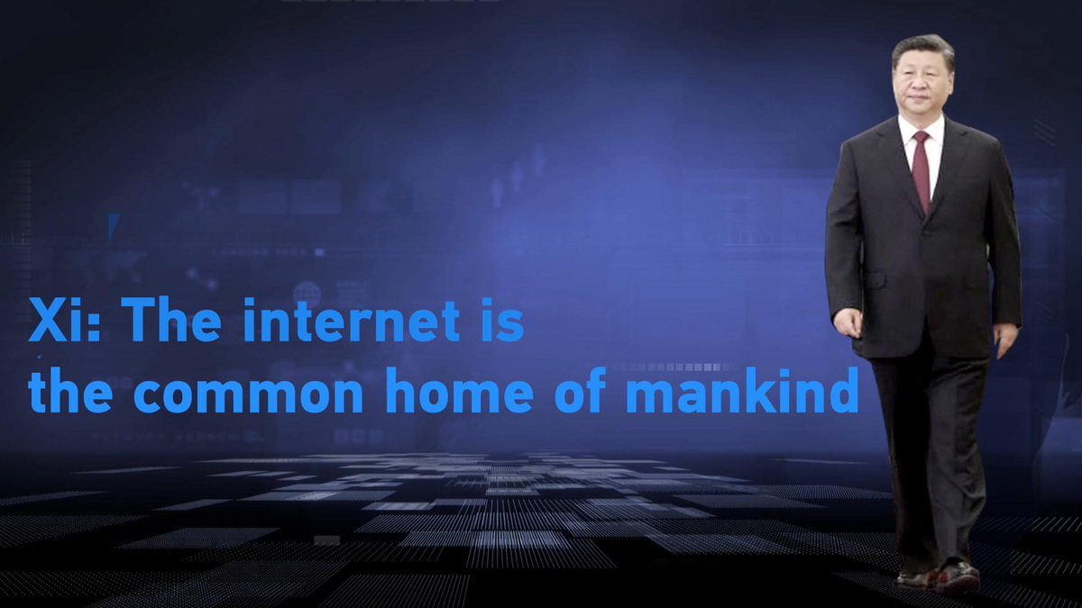 President #XiJinping: The internet is the common home for mankind