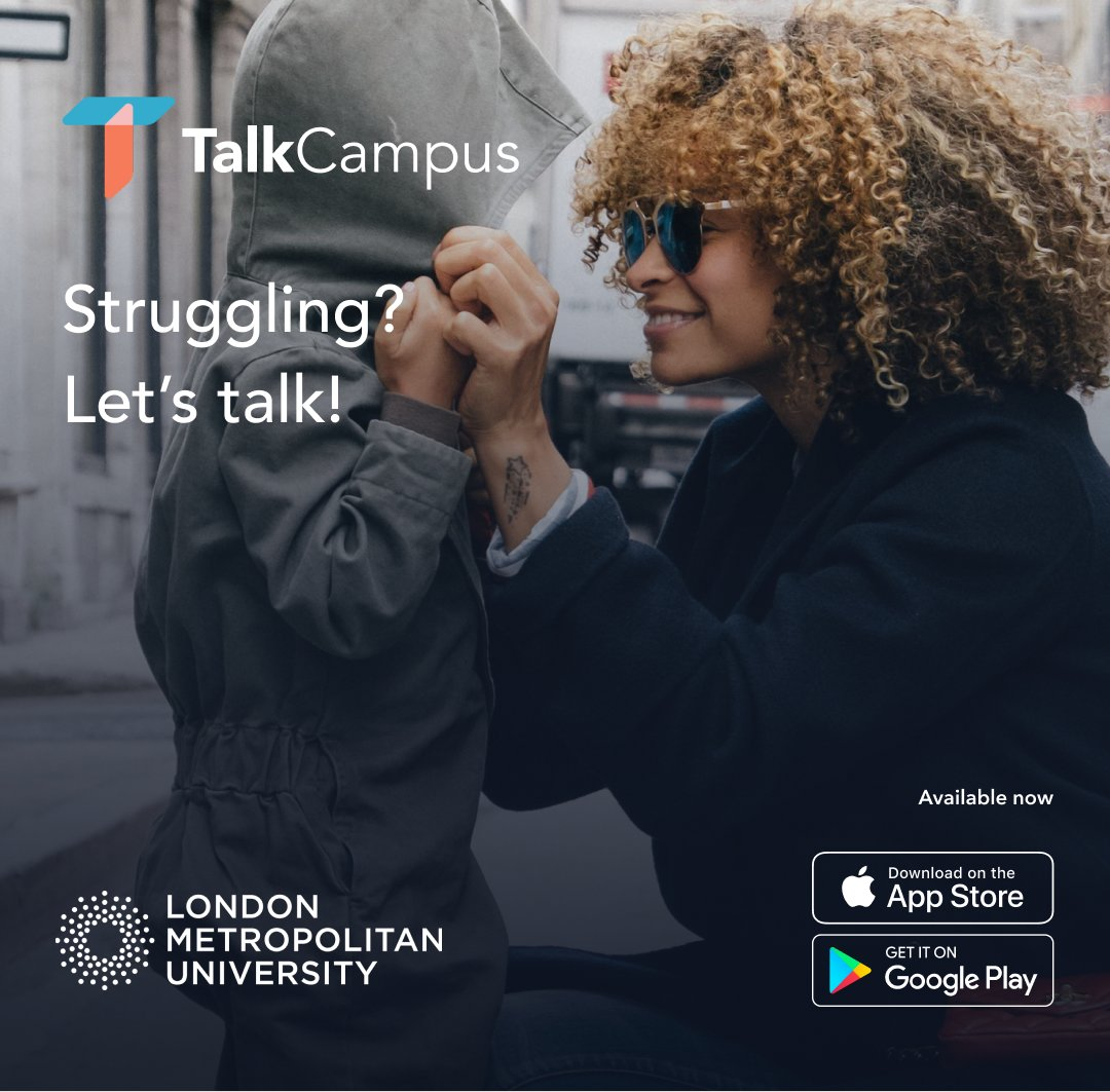 📚 Ever feel like you need to talk to someone during difficult times?  🗣 We're proud to have teamed up with #TalkCampus – an app that allows you to connect with other students, to talk anonymously about anything.  ❤  A #safe place, a safe space.  👉 https://t.co/0VTxb9tCpC https://t.co/1vIiPyrHnm