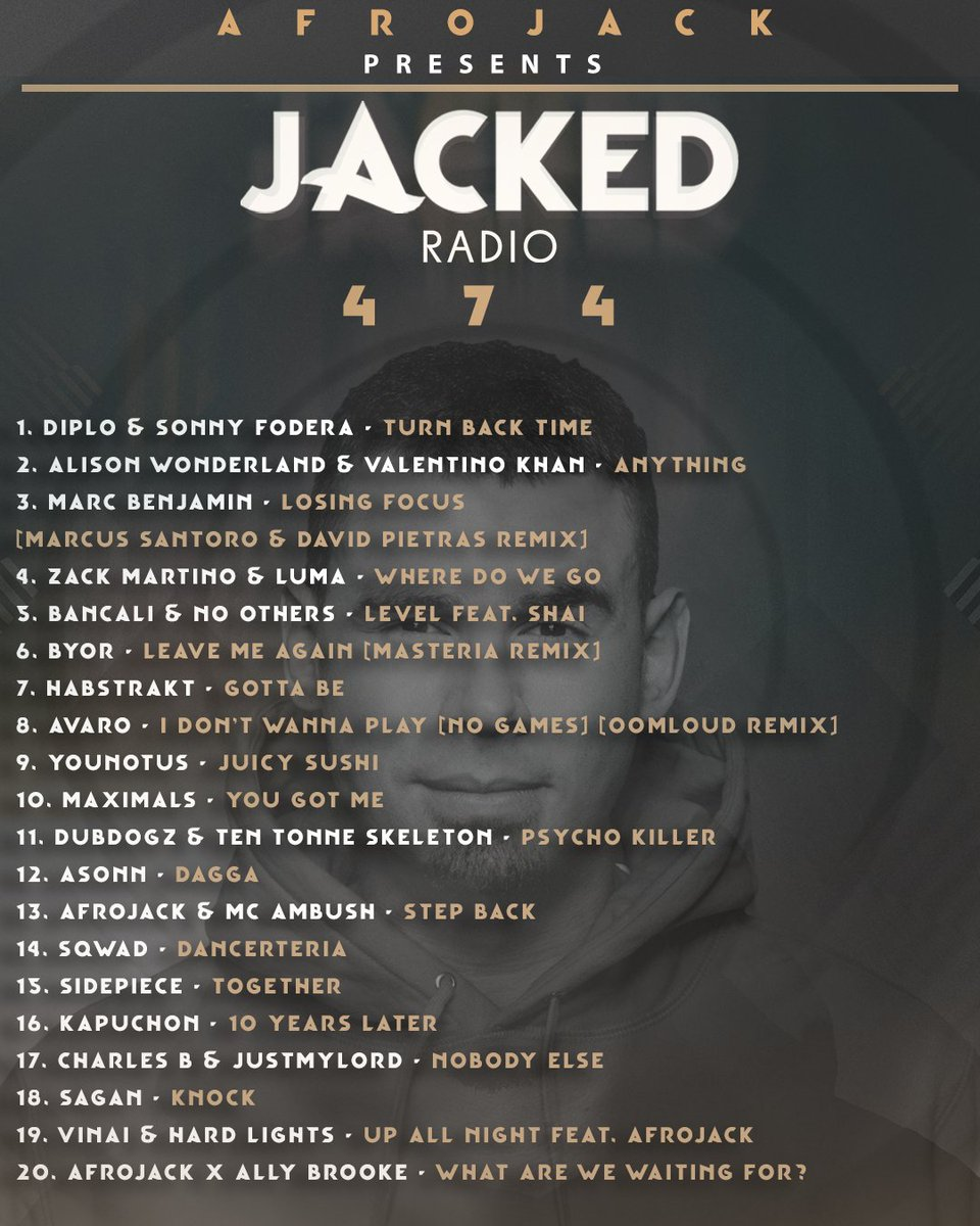 Get ready for a brand new episode of Jacked Radio 🔊:  #jackedradio474