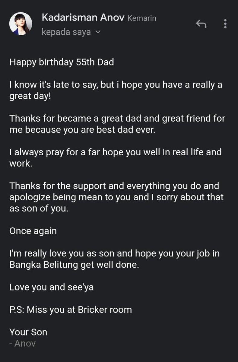 Terimakasih anakku sayang.. You're my everything.. Love youuu so much 😘💙😍 https://t.co/EvSxjl9RkJ