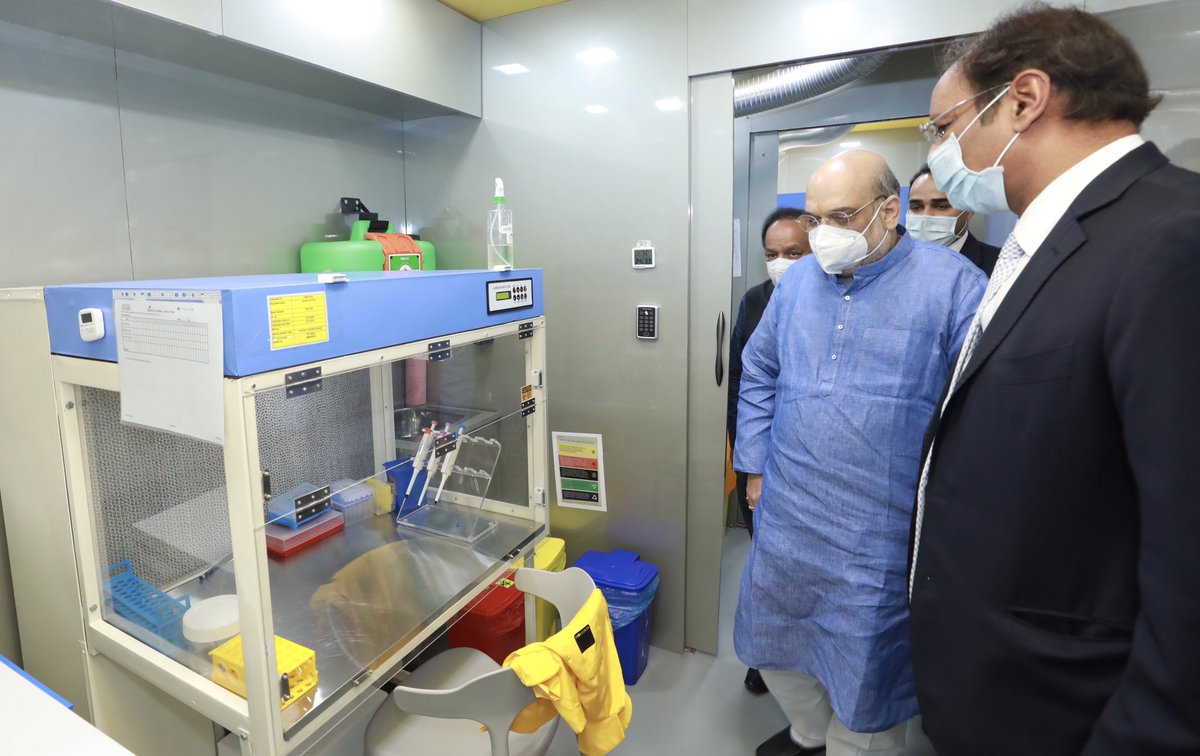Amit Shah launches Covid19 RT-PCR test at Rs 499 cost; result in 6-8 hours