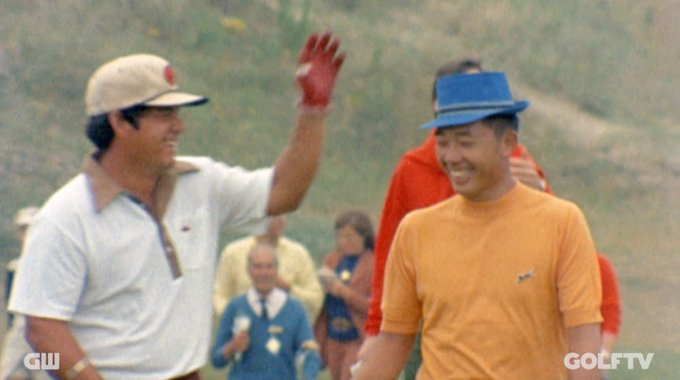A legend with the clubs, and banter.  Happy Birthday, Lee Trevino!