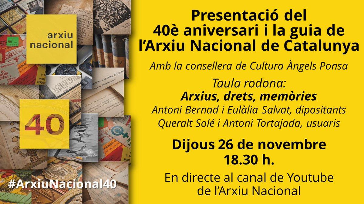 La professora de la Secció Queralt Solé participarà en aquest acte de l'Arxiu Nacional de Catalunya: