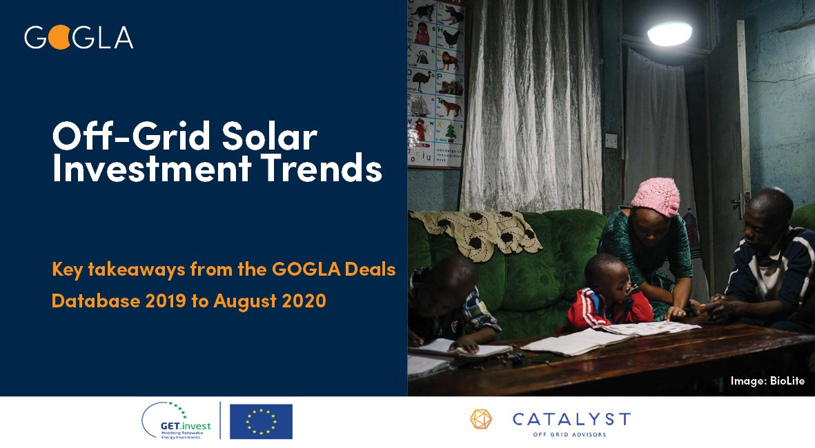 NEW DATA: The #offgridsolar sector has shown #resilience against #COVID19 with nearly $200 million invested by Sept 2020. But for off-grid solar to #powerrecovery and, scale #energyaccess, more - and more diverse - capital is needed.  Get the latest: