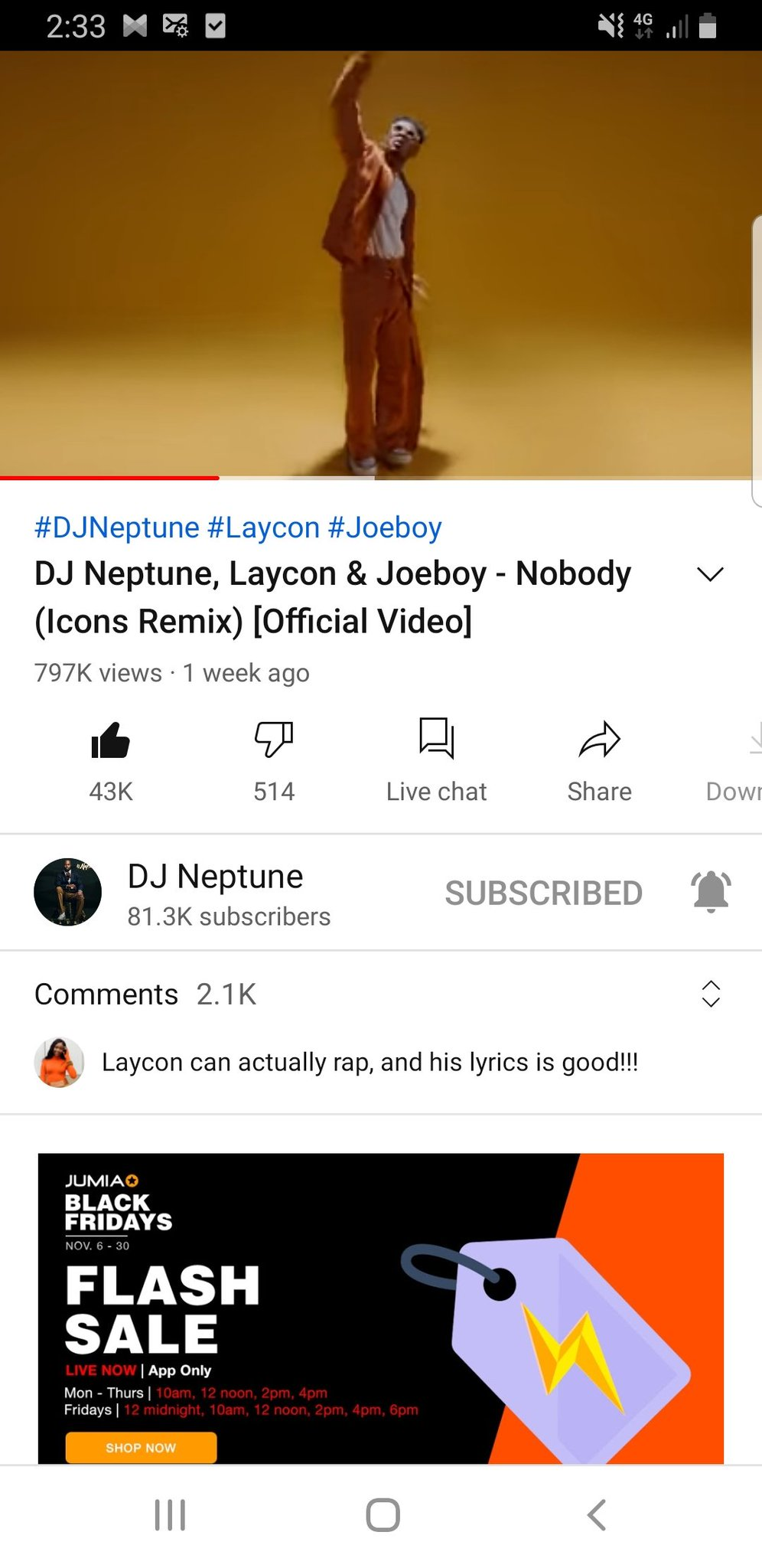 Afm Empire On Twitter While Waiting For Hiphop Video Icons Let Stream Nobody Icon Remix Video To 1m Bfore Wednesday Hiphopvideooutsoon International disc jockey, dj neptune unlocks a catchy music video to his evergreen song titled 'nobody'. twitter