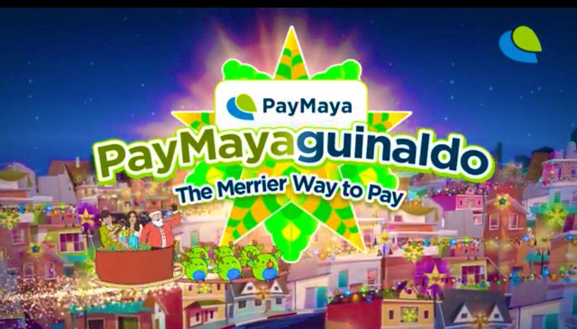 """""""🎶 PayMaya po, ninong! PayMaya po, ninang! 🎶 #ScanToPay  #PayWithYourNumber  Treats inside the app para may chance makakuha ng PHP 1 MILLION aguinaldo! Kaya ngayong pasko, #DontPayCashPayMaya!""""  ©️📸   @bernardokath @LazadaPH"""