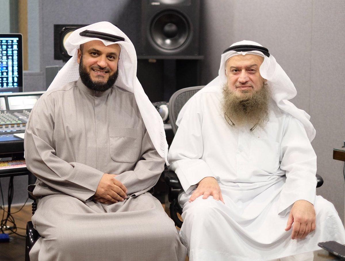 مع الغالين : م. حمد السبتي أول مهندس صوت سجلت معه منذ عام 1993م ، د. عبدالله بوطالب ، د. مبارك الطشة ، أ. ناصر الراجحي ♥️