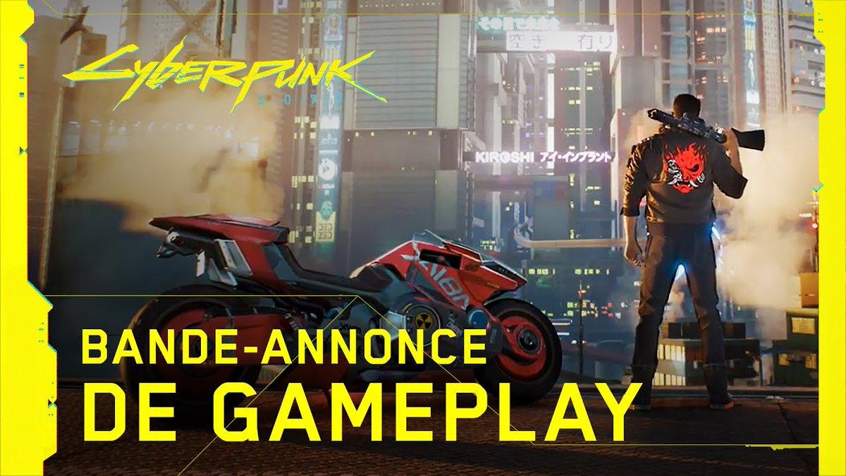 Dans ce monde consumé par un conflit sans fin, seul un outsider peut mettre les choses en ordre.   Et c'est toi.  #Cyberpunk2077 #GameplayTrailer
