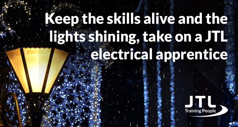 Keeping the skills alive has never been more important!  Take on an apprentice before 31st January 2021 and receive up to £3,000 in government funding.   Find out how a JTL electrical apprentice could help your business, by visiting our website today: