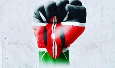 Kenya moja...mimi ni mkenya daima💪🇰🇪🇰🇪 Let's embrace peace love and unity. #mondaythoughts  #CripplesAreWalking  Kinoti