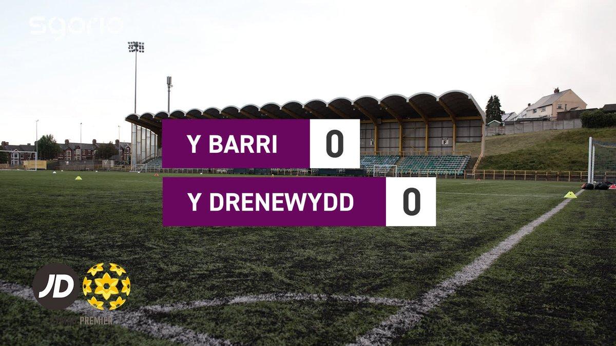 Image for the Tweet beginning: Uchafbwyntiau | Highlights  @BarryTownUnited 0-0 @NewtownAFC