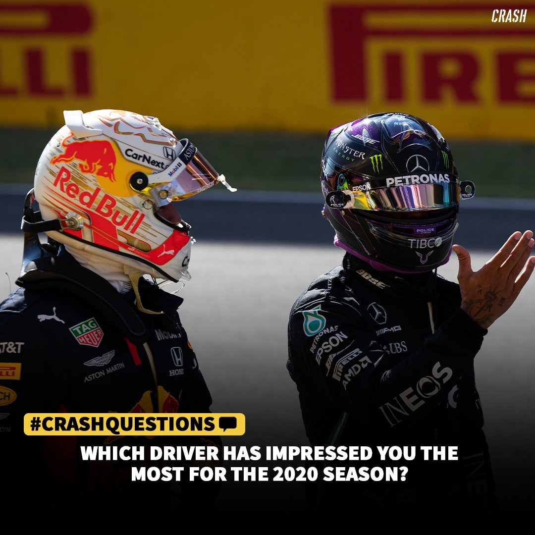 💬 Which driver has impressed you the most for the 2020 season? 🤔  #F1 https://t.co/o34rUrrBxw