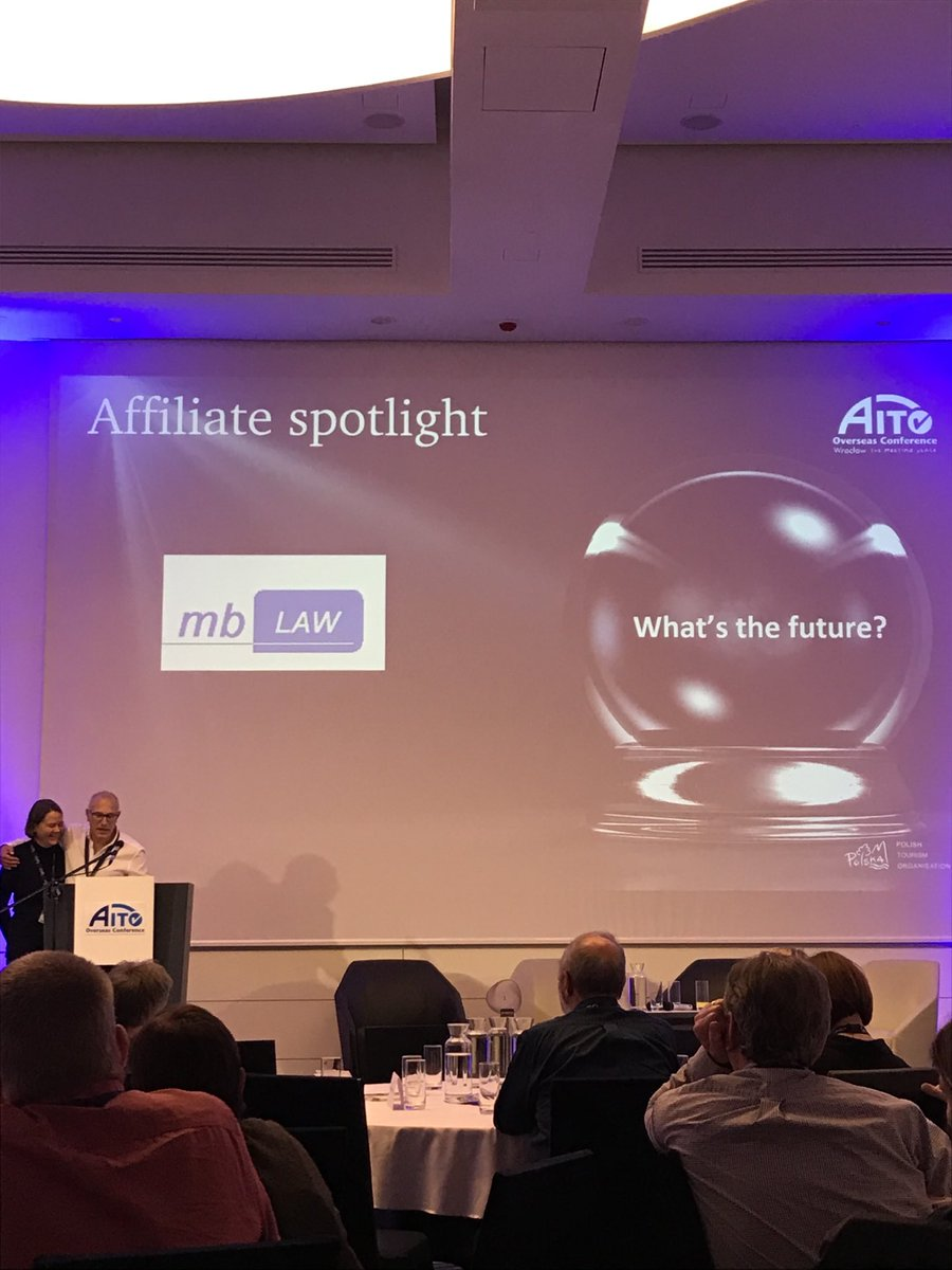 What's the future? #throwback to @AITOHQ conference Poland 2019 this question related heavily to the impacts of Brexit.  None of us expected a year like this with COVID... so the same question could be asked again now.  #mondaythoughts #WhereWouldYouRatherBe