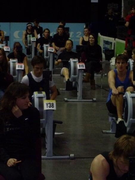 Throw back Monday....it has been a while #GoRowIndoor #Indoorrowing #BRICOnline #Throwback