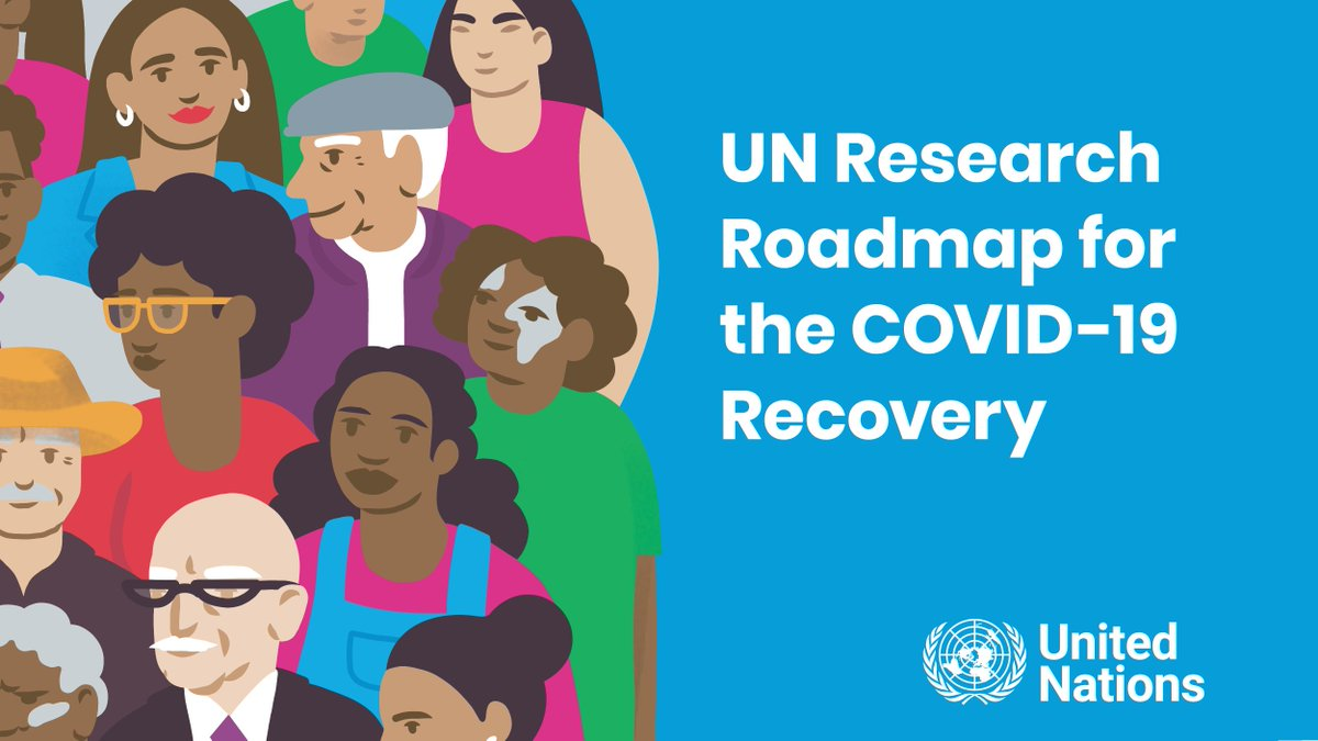 Policy tools that help us to make choices that put people and planet at the centre of the #COVID19 recovery.  @UN Research Roadmap