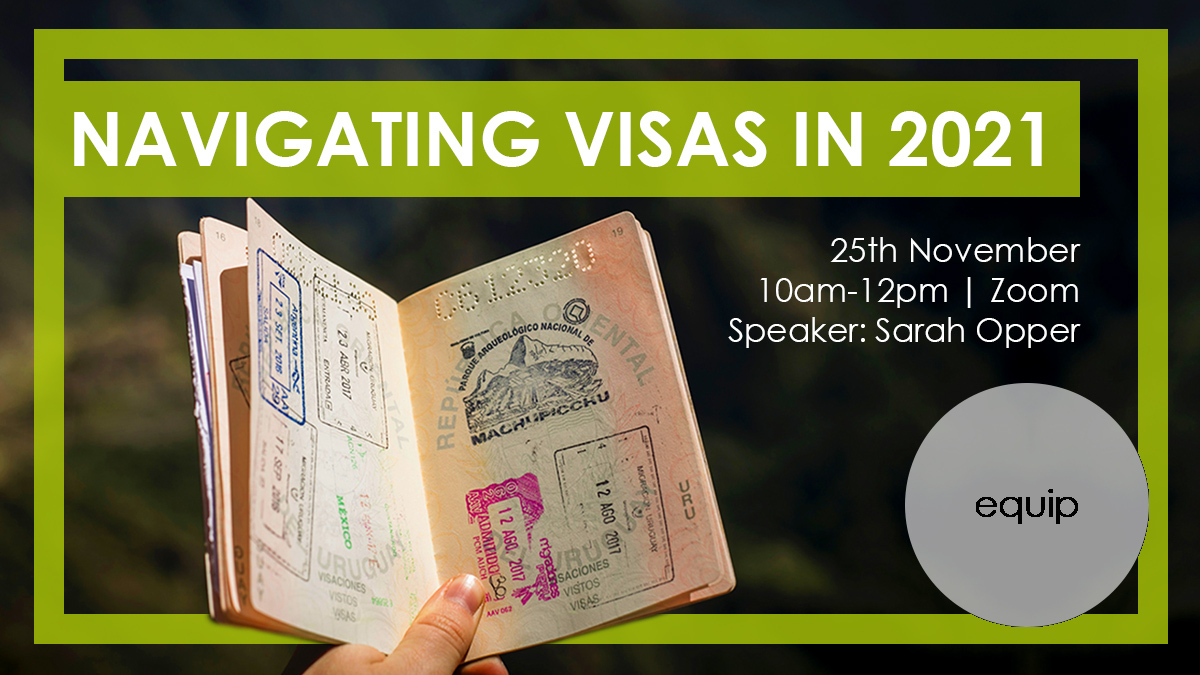 Don't miss out on our Navigating Visas in 2021 webinar with @YWAMEngland Sarah Opper. Some essential and insightful information is sure to be shared. ⁠ ⁠  ⁠ #Visas #GlobalMission⁠