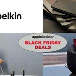 Image for the Tweet beginning: Belkin Black Friday deals knock