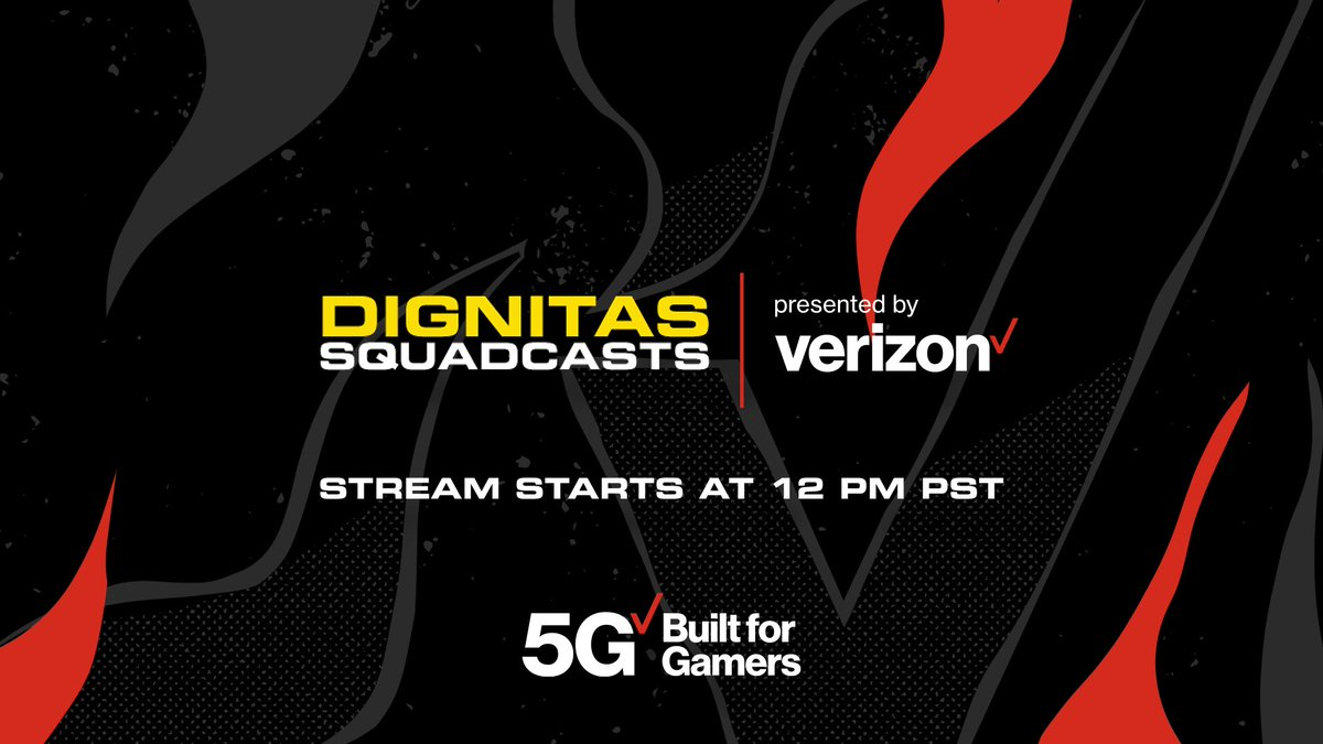 Theia - Hey guys! :D I'm going live in 30 minutes, playing some Among Us with the @dignitas fam!   Thanks to @Verizon for bringing us all together today <3
