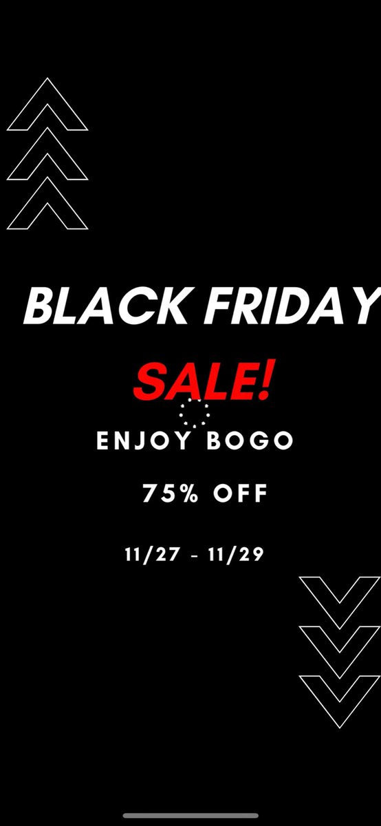 Who's going to be in attendance for our BOGO 75% OFF Black Friday deals 🎉   https://t.co/uegSToHRMB   #fashion235 #supportsmallbusiness #DealsAndSteals #BFCM #blackownedbusiness #discountlovers #nocodeneeded #FreeShipping #Cincinnati #explore #FYP https://t.co/ktChFlHIf9