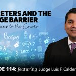 Image for the Tweet beginning: In this episode, Judge Calderon,