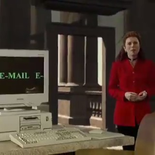 What is electronic mail?   A wonderful demo of email in 1995 (only two years after the birth of the worldwide web)  #success #FridayMotivation