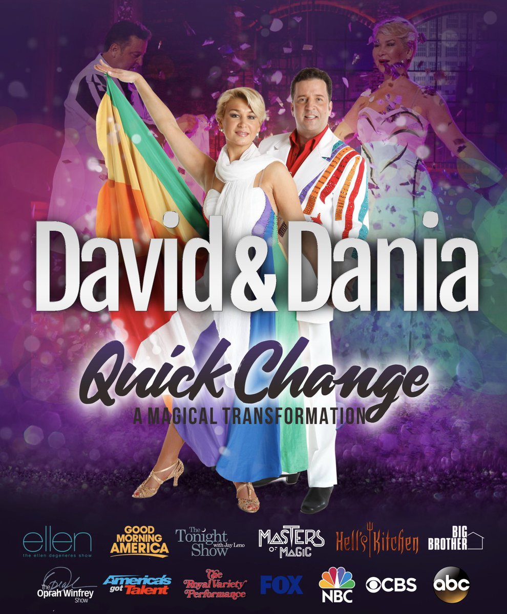 It's with a very heavy heart that we announce the passing of our friend David Maas. Many of you may know him as part of the quick change duo, David and Dania. He was taken by COVID-19 yesterday.   Rest In Peace