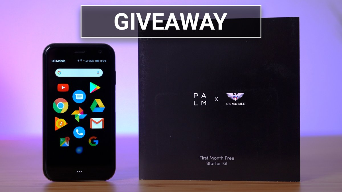 NEW VIDEO! Win a Palm Smartphone and 1 Free Year of US Mobile service!  Special thanks to @palm and @USMobile for helping to make this giveaway happen 🙏🏻