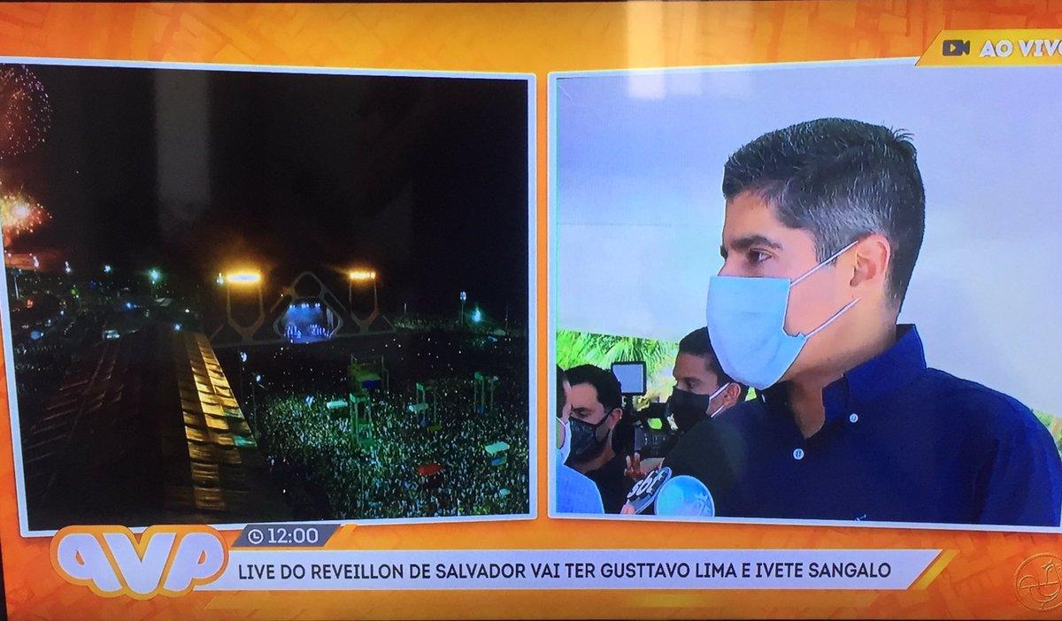 O evento @ViradaSalvador será diferente!!! Uma Live no dia 31 dezembro com a baiana @IveteSangalo e @GusttavoLima no Forte São Marcelo em Salvador! Todos vamos assistir de casa.   #SSACARNAVAL #ViradaSalvador #CasemiroNeto #IveteSangalo #GusttavoLima #ViradaSalvador #TVAratu