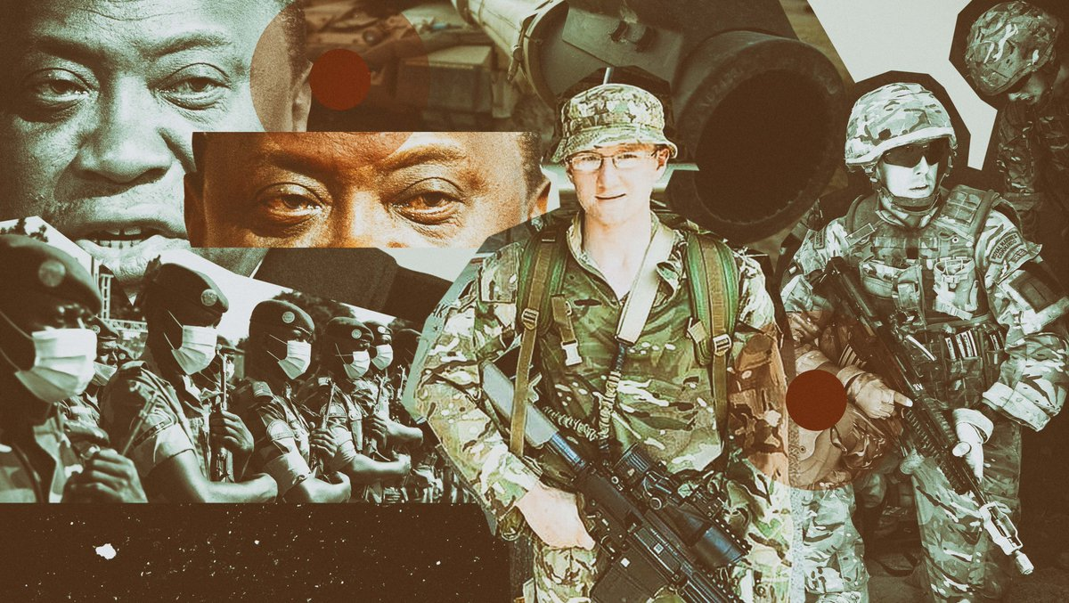 In Kenya, the UK military has access to Nyati Camp in Nanyuki - the hub for hundreds of British army personnel - and to 5 more sites and 13 training grounds, which are used for preparing troops before they deploy to Afghanistan and elsewhere. bit.ly/3mcGpLK